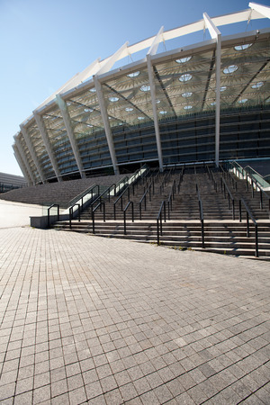 arena: view of the Olympic Stadium