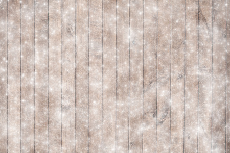 old texture: Old wood texture with snow flakes Stock Photo