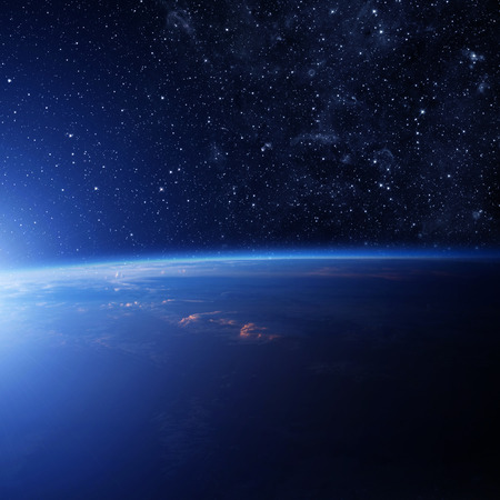 triangulum: Planet earth from the space. Some elements of this image furnished by NASA Stock Photo