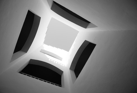 architecture abstract: Arabic abstract house architecture exterior