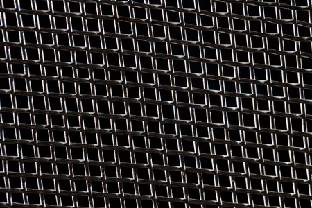 grid: abstract metal grid background
