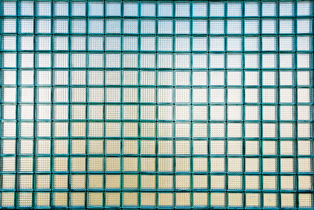 glass texture: glass blue background texture Stock Photo