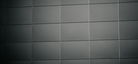 Metal texture background with tiles