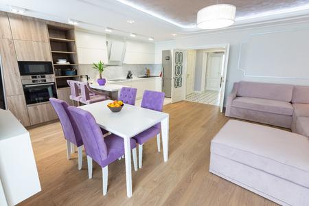 Modern kitchen design interior