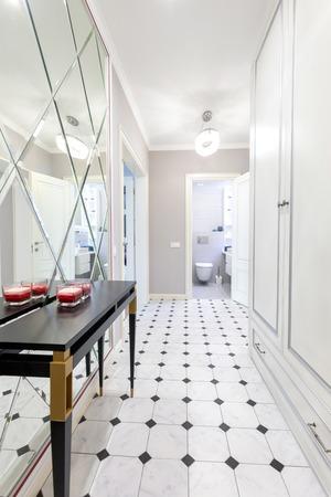 Interior design of a corridor or house entrance design