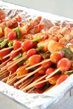 Barbecue  in tray Stock Photo - 8909601