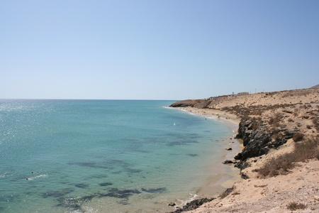 View of Fuerteventura Beach ( Canary Islands, Spain )