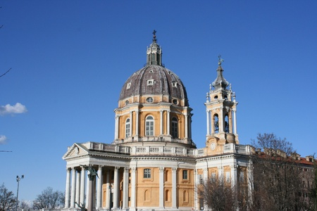 A View of the Basilica of Superga (Turin, Italy) photo