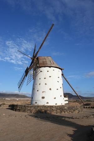View of Fuerteventura Ancient Windmill ( Fuerteventura, Canary Islands, photo