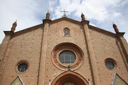 View Of San Secondo Church  Asti , Piemonte Italy  photo