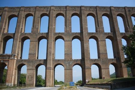 View of Caroline Aqueduct   Italy