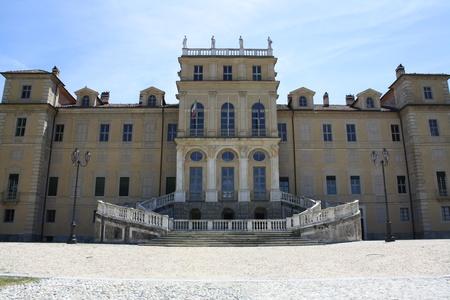 View of the Villa of the Queen, Villa della Regina  Turin Italy