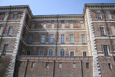 rivoli: View of Rivoli castle near Turin  Italy