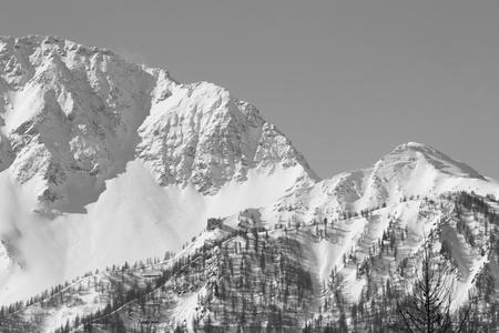 bardonecchia: View of Susa Valley Mountains   Bardonecchia Italy