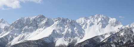 bardonecchia: Panoramic View of Susa Valley   Bardonecchia Italy   Stock Photo