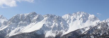 bardonecchia: Panoramic View of Susa Valley   Bardonecchia Italy   Stock Photo