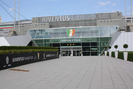 TURIN, ITALY - AUGUST 15  Juventus Stadium on August 15, 2013 in Turin, Italy  Juventus stadium is home of Juventus football club  Editorial