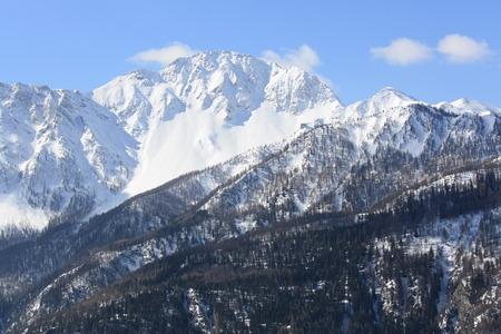 bardonecchia: Panoramic View of Susa Valley Mountains    Bardonecchia Italy