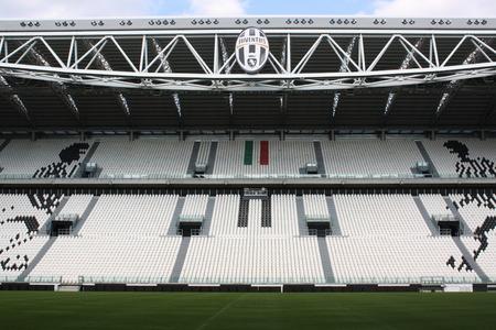 TURIN, ITALY - AUGUST 15  Juventus Stadium on August 15, 2013 in Turin, Italy  Juventus stadium is home of Juventus football club Editorial