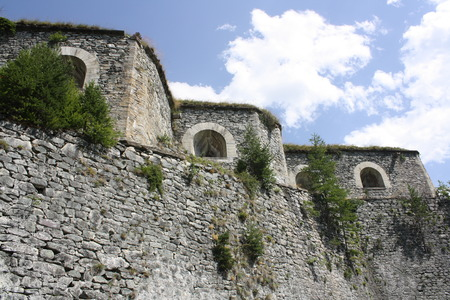 impervious: View of Fenestrelle Fort, Fenestrelle, Turin, Italy