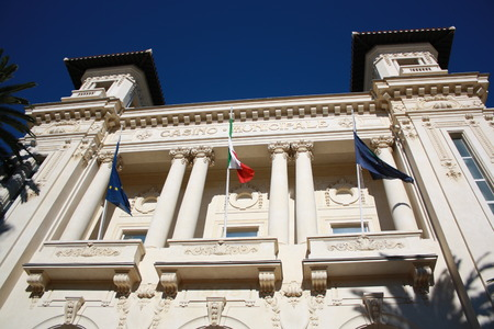sanremo: Picture of the Municipal Casino of the city of Sanremo   Italy