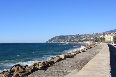 sanremo: Coast View of Sanremo (Liguria, Italy)