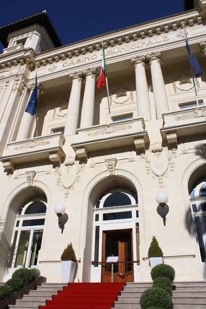 Picture of the Municipal Casino of the city of Sanremo (Italy) Editorial