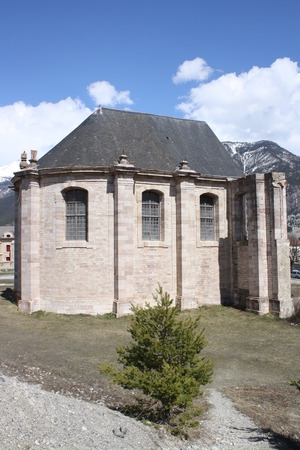 Saint Louis church, Fortress of Mont-Dauphin (Briancon, France)