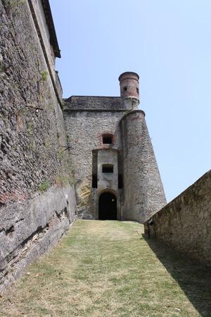View of Fort Gavi (Gavi Ligure, Alessandria, Piedmont, Italy) Editorial
