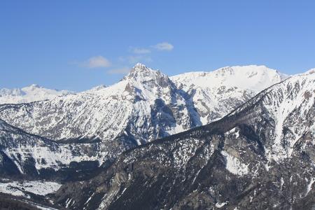 Susa Valley mountains (Bardonecchia Italy)