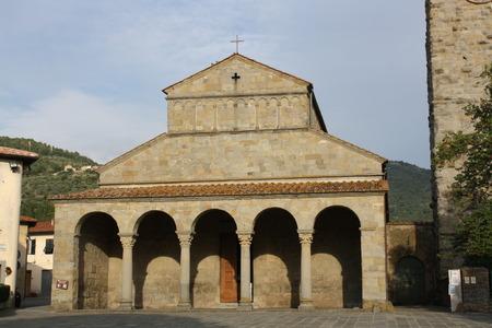 View of St. Peters Church (Cascia Reggello, Tuscany, Italy)