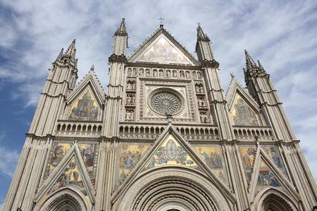 terni: Santa Maria Assunta Cathedral Umbria, Orvieto, Italy Editorial