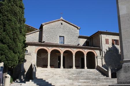 View of San Quirino Church (San Marino Republic)