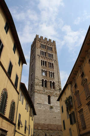 San Frediano cathedral (Lucca Italy) Reklamní fotografie