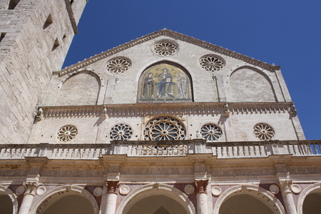 View Of Santa Maria Assunta Cathedral Spoleto, Perugia, Italy