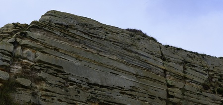 cliff face: Sandstone Cliff face at hastings
