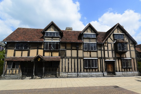 William Shakespeare birthplace - Stratford upon Avon, England Editorial
