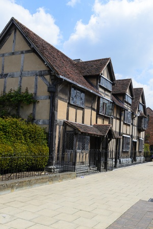 William Shakespeare birthplace - Stratford upon Avon, England