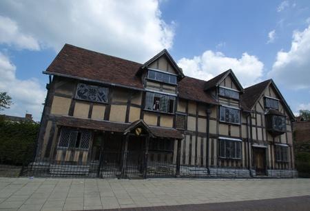 William Shakespeare birthplace - Stratford upon Avon, England Editorial