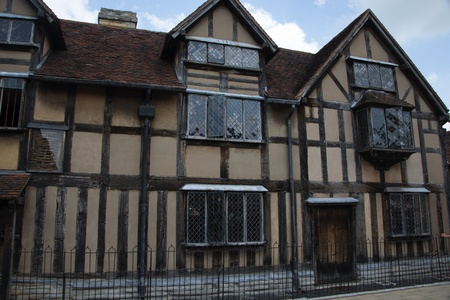 William Shakespeare s birthplace - Stratford upon Avon, England Editorial