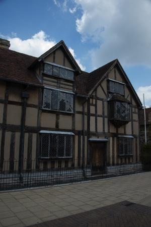 william shakespeare: William Shakespeare birthplace - Stratford upon Avon, England Editorial