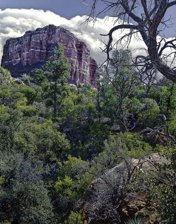 vistas: hiking the trails souronding the Sedona, Arizona  area, many vistas can been seen