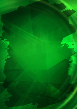 Green abstract background Stock Photo - 9405641