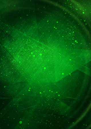 Green grunge abstract background photo