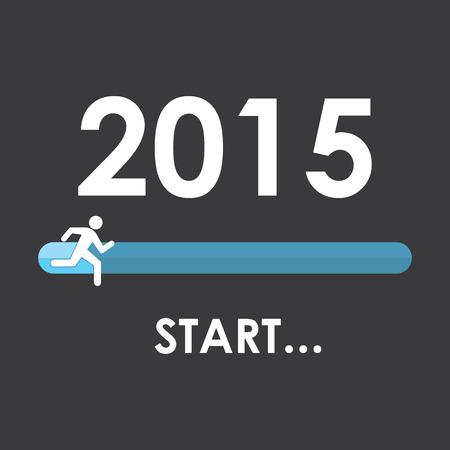 week end: Comience 2015 Ilustraci�n