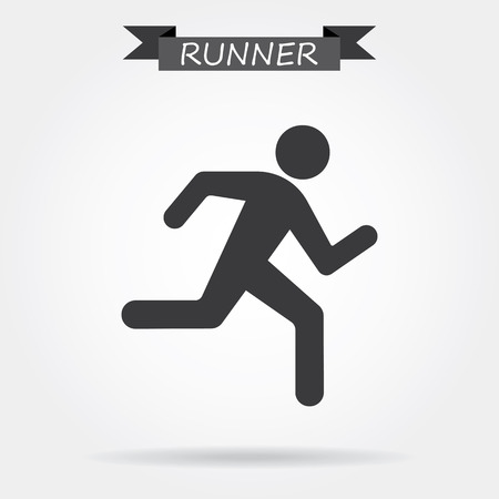 success man: Running icon