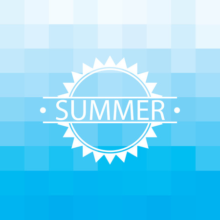 radiate: Summer background