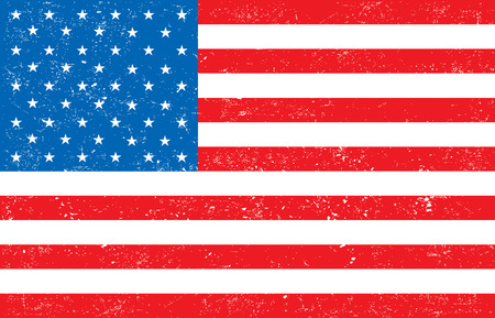 patriotic usa: American flag