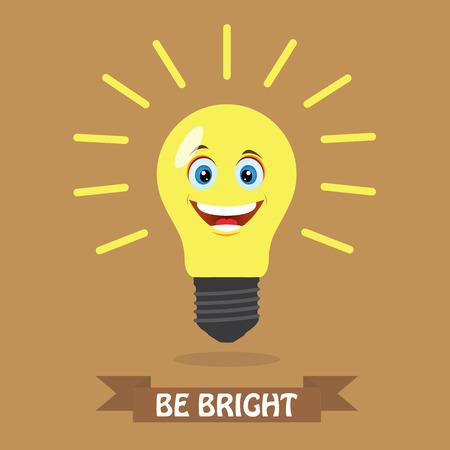 comedic: Be bright