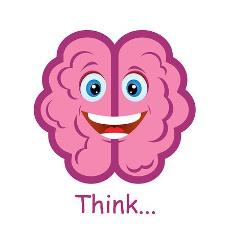 pensador: Divertido cerebro